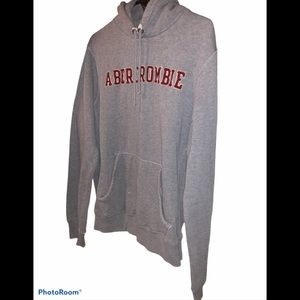 Abercrombie Fitch men's medium thick hoodie shirt